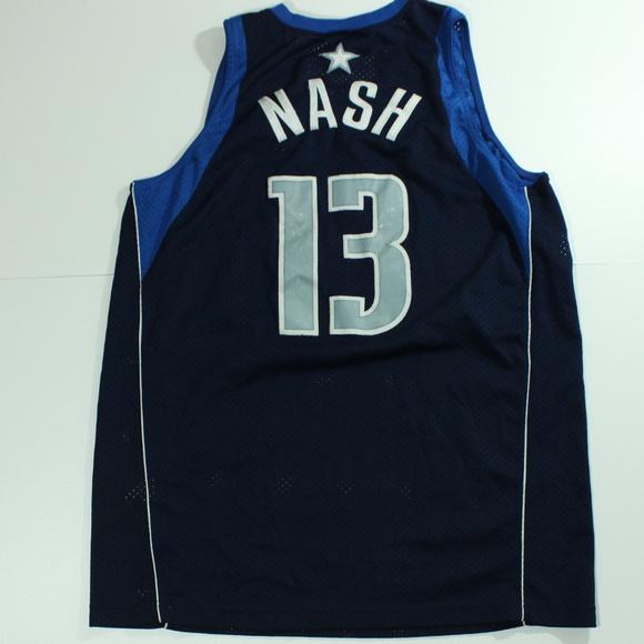 best service d53d1 865b4 VTG Nike Dallas Mavericks Jersey Steve NASH #13 XL